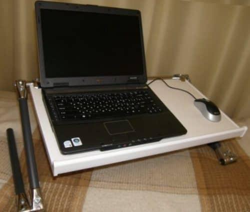 Самодельная подставка для ноутбука с охлаждением