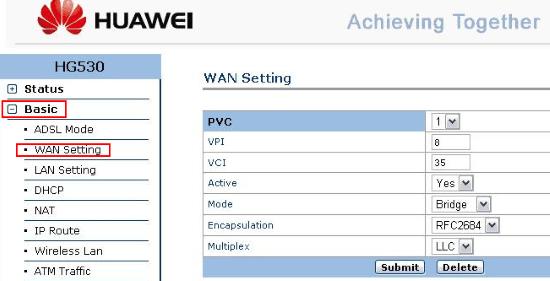 Huawei HG530: как настроить и подключить по протоколу DHCP
