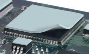 термопрокладка на ноутбуке